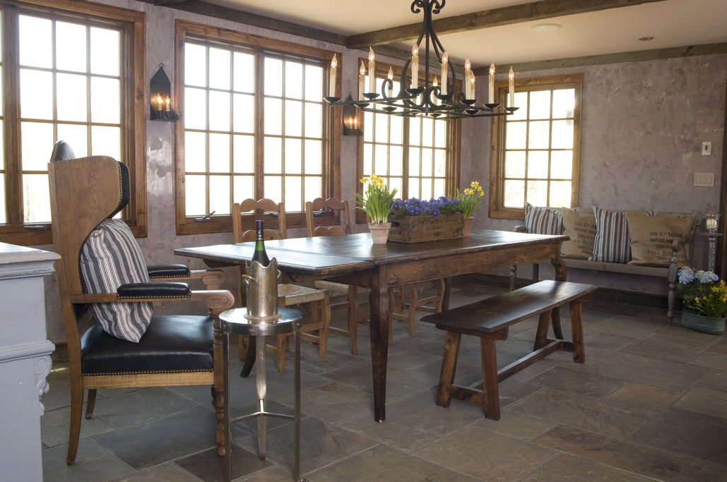 Hamptons Dining Room Stone