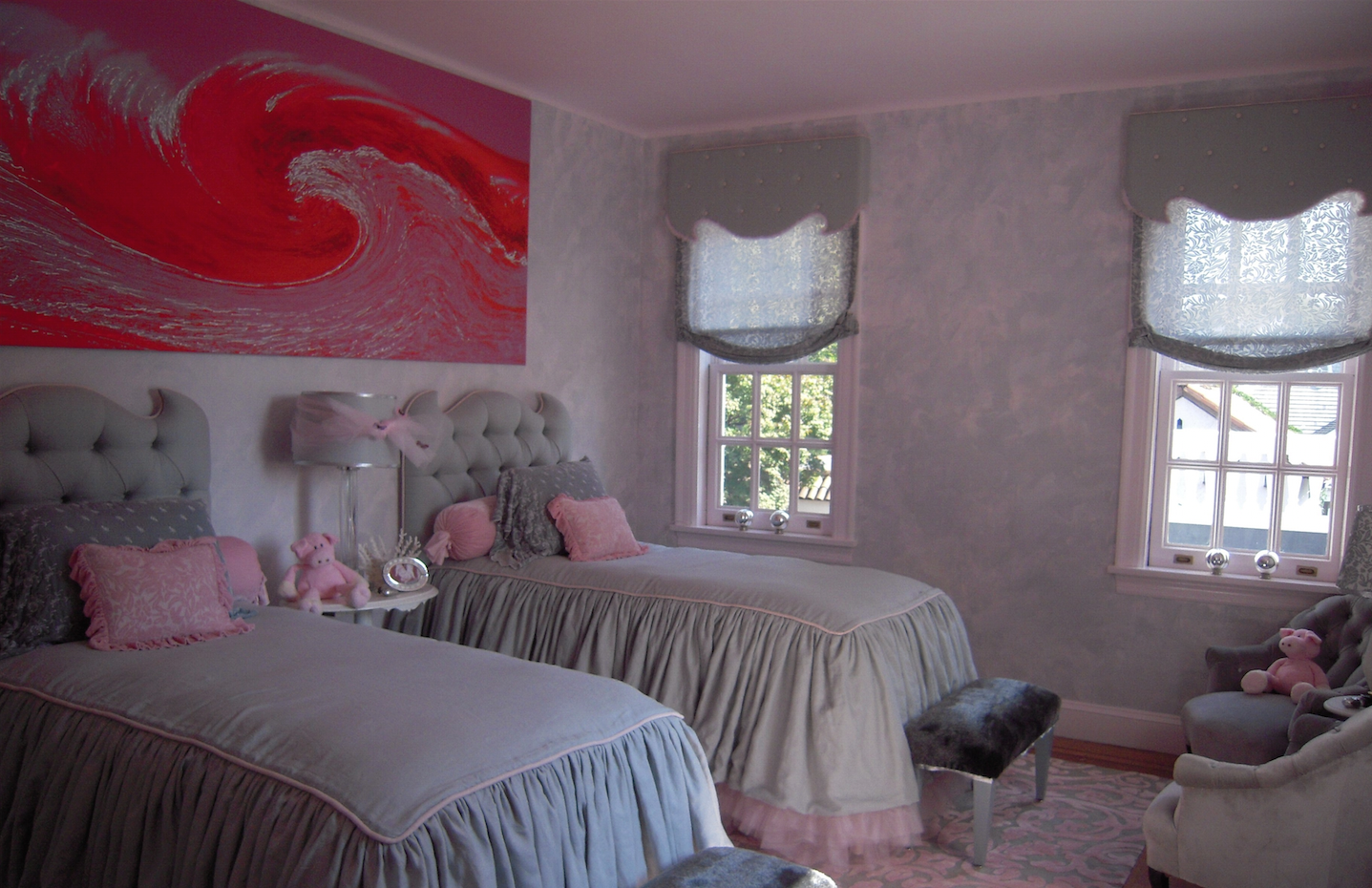 Hamptons Girls Bedroom