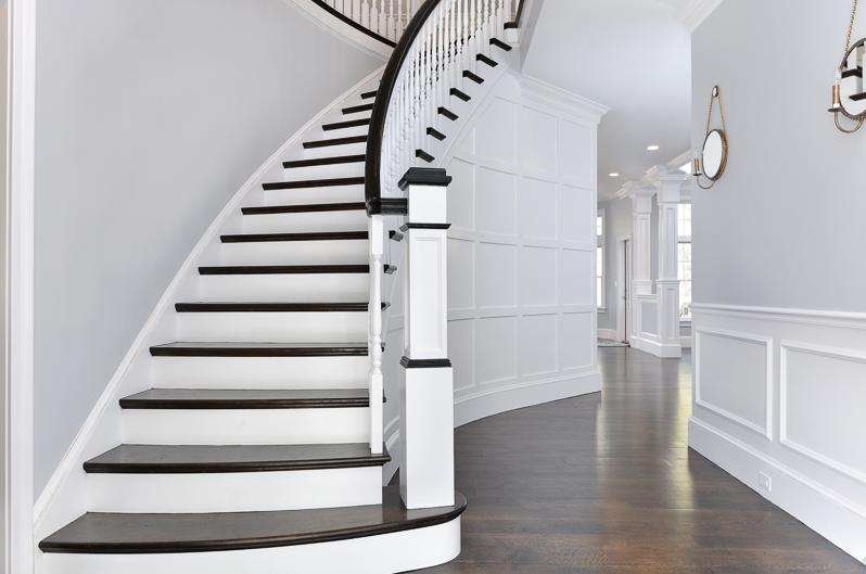 Hamptons Staircase Hallway