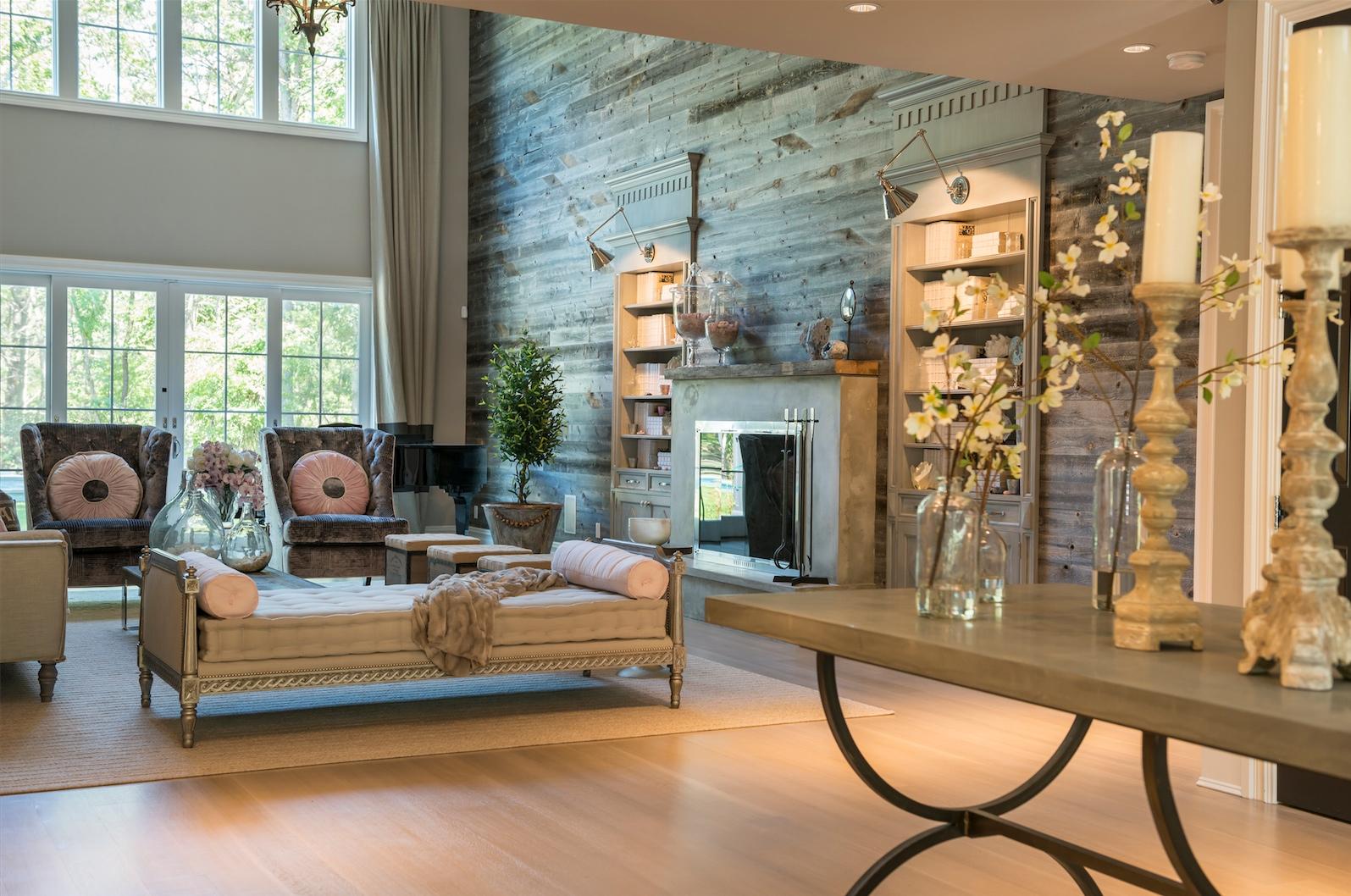 Hamptons Elegant Great Room