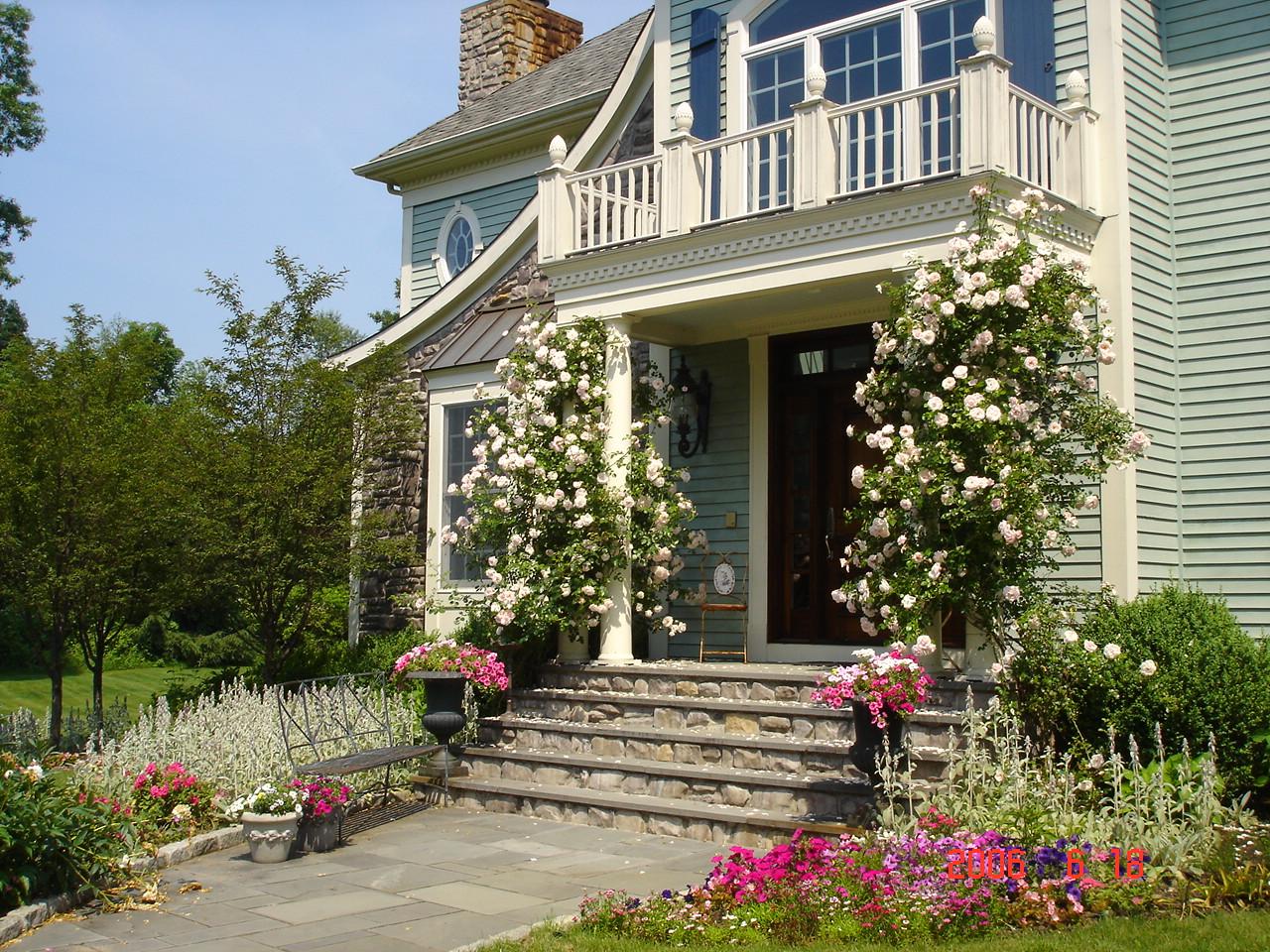 Hamptons House Front Door